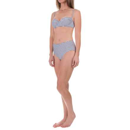 Barbour Renishaw Bikini Set - Underwire Support (For Women) in White/Navy Stripe - Closeouts