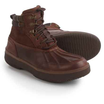 Barbour Rhino Winter Boots - Waterproof, Insulated (For Men) in Brown - Closeouts