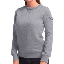 Barbour Rhonda Sweater (For Women) in Light Grey - Closeouts