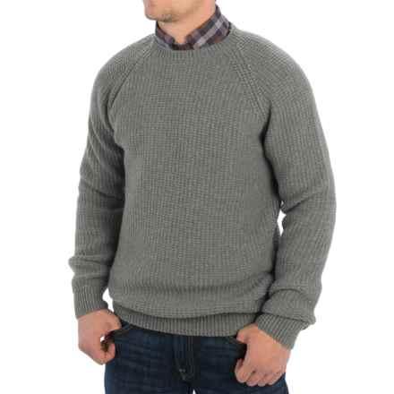 Barbour Riverton Sweater (For Men) in Concrete - Closeouts
