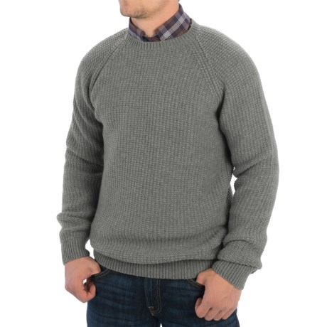 Barbour Riverton Sweater (For Men) in Concrete