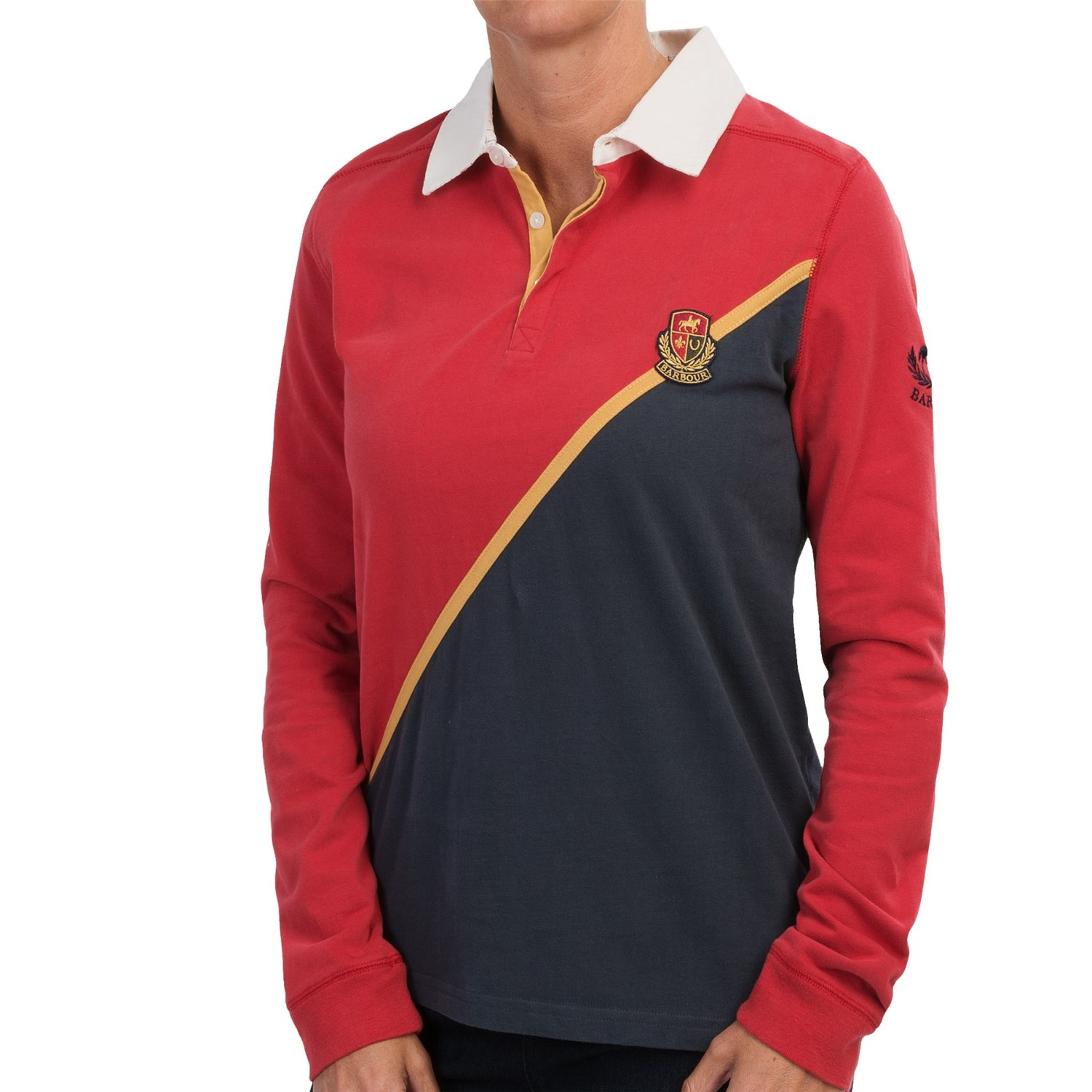 Barbour Ryla Rugby Shirt For Women Save 64
