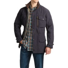 Barbour Sapper Quilted Jacket - Insulated (For Men) in Navy - Closeouts