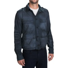 Barbour Savanah Utility Jacket (For Men) in Navy - Closeouts