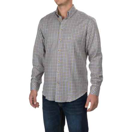 Barbour Scotland Shirt - Relaxed Fit, Long Sleeve (For Men) in Dark Brow - Closeouts
