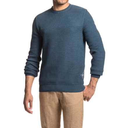 Barbour Shellback Sweater (For Men) in Navy - Closeouts