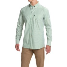 Barbour Skelton Striped Shirt - Button Front, Long Sleeve (For Men) in Turf Stripe - Closeouts