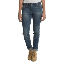 Barbour Slim Fit Denim Jeans (For Women) in Denim Blue, Roybridge - Closeouts