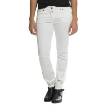 Barbour Slim Fit Denim Jeans (For Women) in White, Vision - Closeouts