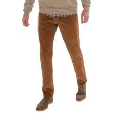 Barbour Sloane Premium Corduroy Pants (For Men) in Dark Sandstone - Closeouts