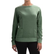 Barbour Sovereign Sweatshirt (For Women) in Linden Green - Closeouts