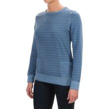 Barbour Sovereign Sweatshirt (For Women) in Light Grey Marl - Closeouts