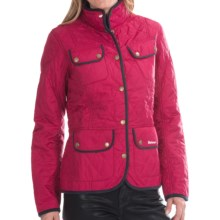 Barbour Spectrum Pantone Quilted Jacket (For Women) in Fuchsia - Closeouts