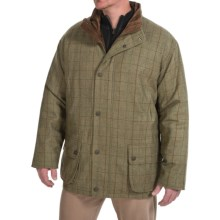 Barbour Sporting Lightweight Tweed Shooting Jacket - Washable Lambswool (For Men) in Green Check - Closeouts