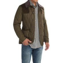 Barbour Sporting Quilted Jacket - Insulated (For Men) in Olive - Closeouts