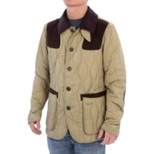 Barbour Sporting Quilted Jacket - Insulated (For Men) in Safari - Closeouts