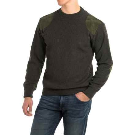 Barbour Sporting Sweater - Merino Wool (For Men) in Loden - Closeouts