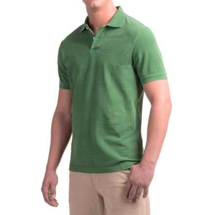 Barbour Stack Polo Shirt - Short Sleeve (For Men) in Lawn - Closeouts
