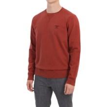 Barbour Standards Crew Neck Sweatshirt (For Men) in Mars Red - Closeouts