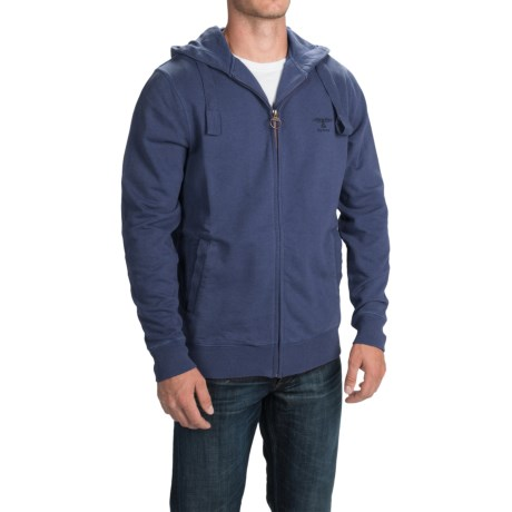 Barbour Standards Hooded Sweatshirt Full Zip (For Men)