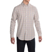 Barbour Stanley Cotton Shirt - Sporting Fit, Long Sleeve (For Men) in Dark Red - Closeouts