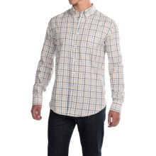 Barbour Stanley Cotton Shirt - Sporting Fit, Long Sleeve (For Men) in Navy - Closeouts