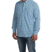 Barbour Stanley Regular Fit Shirt - Long Sleeve (For Men) in Navy - Closeouts