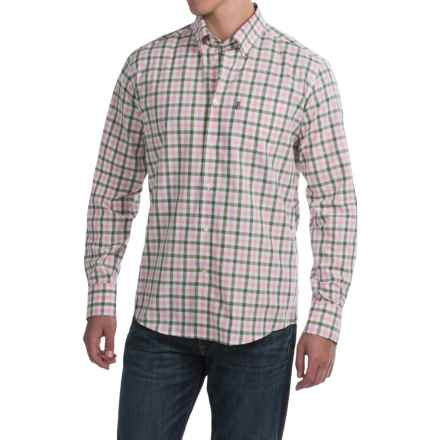 Barbour Stanley Regular Fit Shirt - Long Sleeve (For Men) in Olive - Closeouts