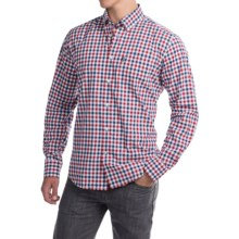 Barbour Stanley Regular Fit Shirt - Long Sleeve (For Men) in Rich Red - Closeouts