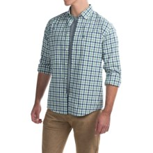 Barbour Stanley Regular Fit Shirt - Long Sleeve (For Men) in Turf - Closeouts
