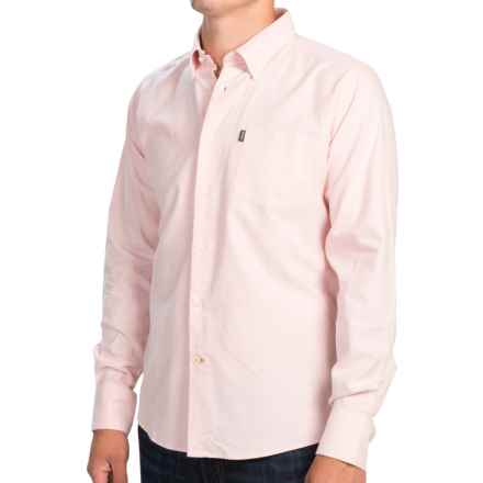 Barbour Stanley Shirt - Slim Fit, Long Sleeve (For Men) in Pink - Closeouts