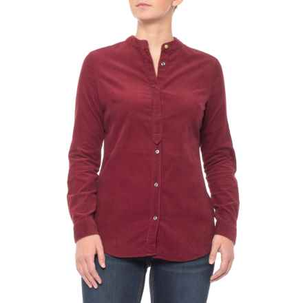 Barbour Stock Shirt - Cotton, Long Sleeve (For Women) in Red - Closeouts