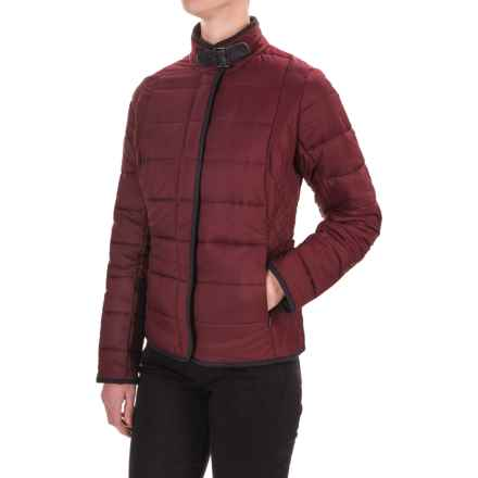 Barbour Straiton Quilted Jacket - Insulated (For Women) in Bordeau - Closeouts