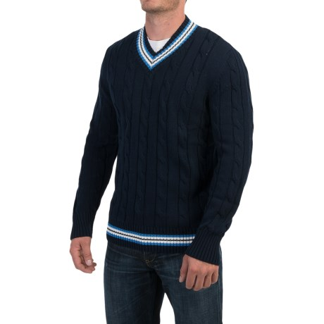 Barbour Stride V Neck Sweater (For Men)