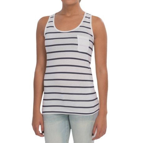 Barbour Striped Tank Top (For Women) in Navy/White, Berryhead