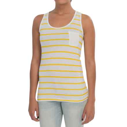 Barbour Striped Tank Top (For Women) in Yellow/White, Berryhead - Closeouts