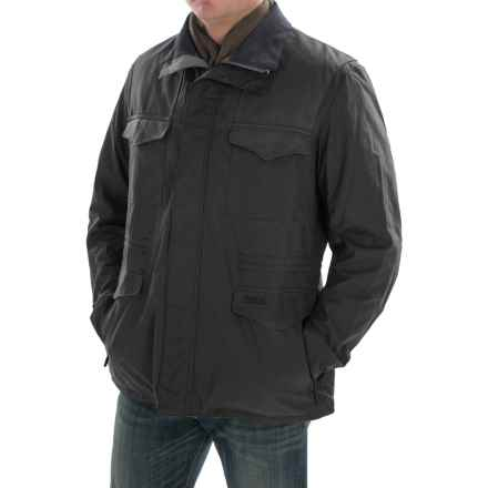 Barbour Summer Traveler Waxed-Cotton Jacket (For Men) in Navy - Closeouts