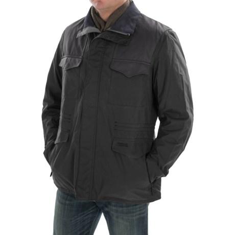 Barbour Summer Traveler Waxed-Cotton Jacket (For Men) in Navy