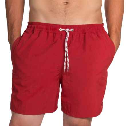 Barbour Swim Shorts (For Men) in Red, Lomond - Closeouts