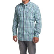 Barbour Terence Shirt - Regular Fit, Long Sleeve (For Men) in Green - Closeouts