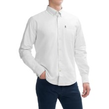 Barbour The Oxford Shirt - Long Sleeve (For Men) in White - Closeouts