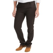 Barbour Thornton Wool Blend Tweed Trousers (For Women) in Brown - Closeouts