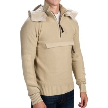 Barbour Tokito Hooded Sweater (For Men) in Stone - Closeouts