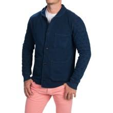 Barbour Toria Button-Through Jacket (For Men) in Indigo - Closeouts