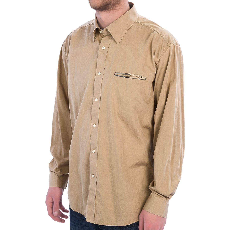 Barbour torridon shirt for men save 61 for Hidden button down collar shirts