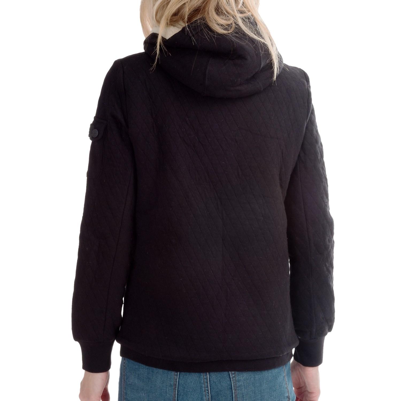 Girls sherpa lined hoodie