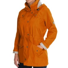 Barbour Trevose Hooded Jacket - Waterproof (For Women) in Marigold - Closeouts