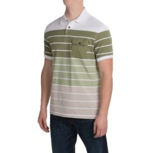 Barbour Trooper Polo Shirt - Short Sleeve (For Men) in Pine Green - Closeouts