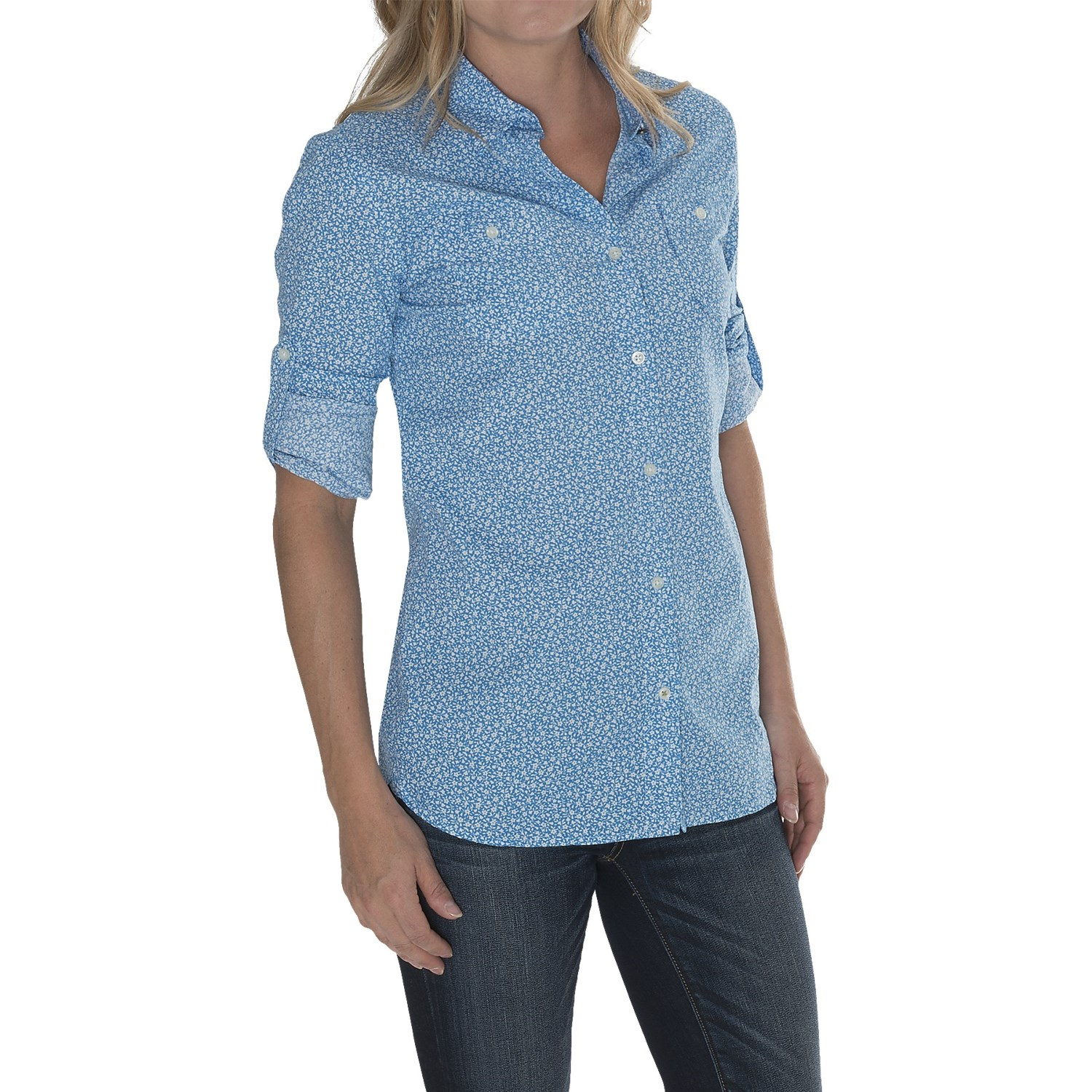 barbour two pocket cotton shirt for women save 61