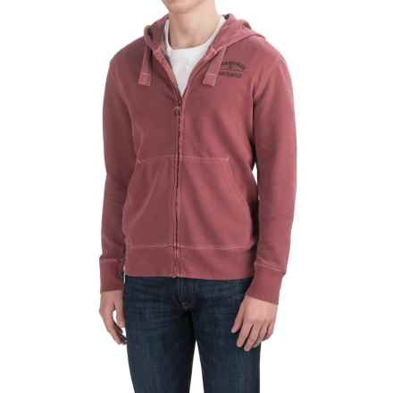 Barbour Utility Hoodie (For Men) in Biking Red - Closeouts